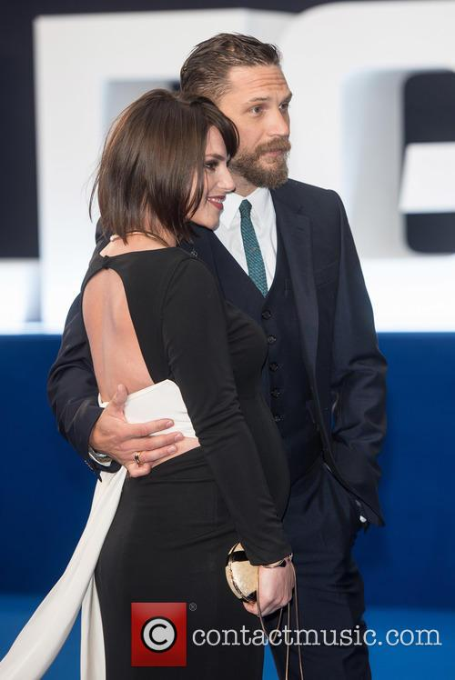 Tom Hardy and Charlotte Riley 4