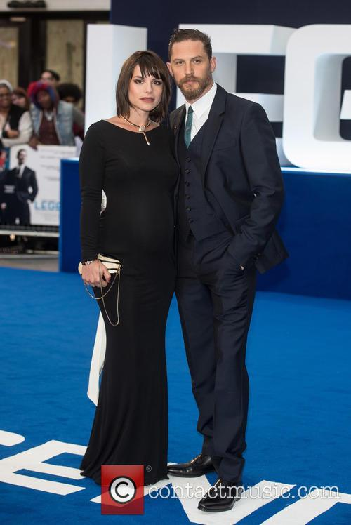 Tom Hardy and Charlotte Riley 5