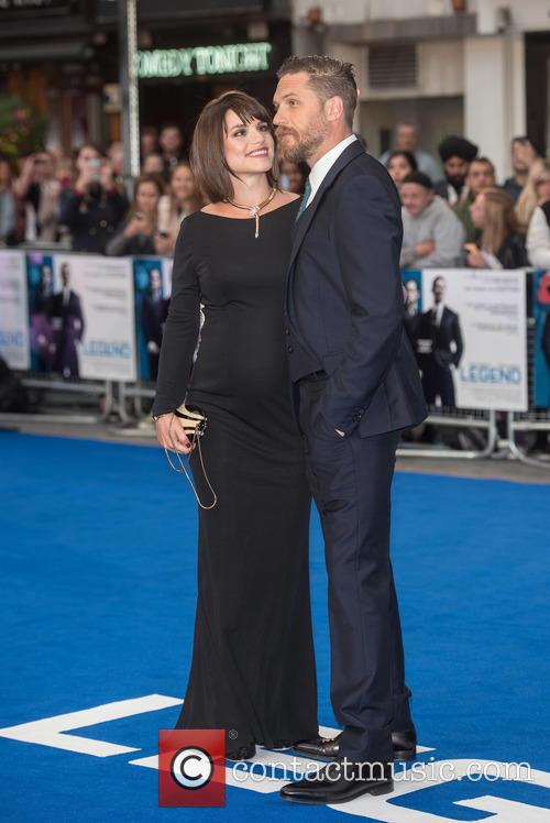 Tom Hardy and Charlotte Riley 8