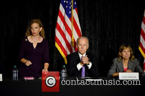 Rep. Debbie Wasserman Shultz, Vice President Joe Biden and Debby Eisinger 1