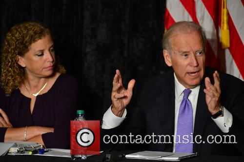 Rep. Debbie Wasserman Shultz and Vice President Joe Biden 1