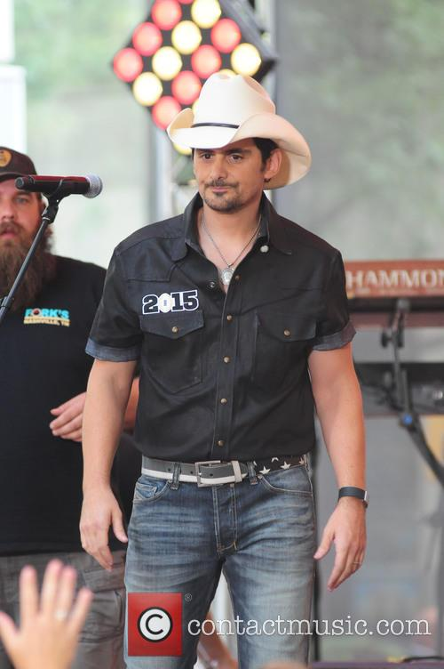 Brad Paisley performing live on NBC's Today show