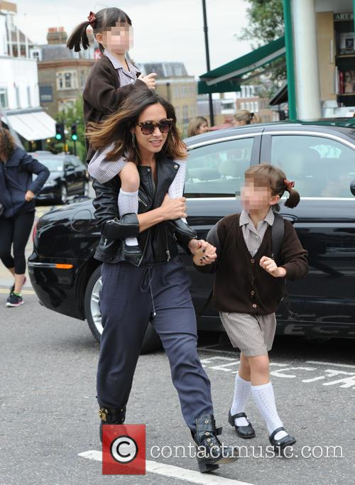 Myleene Klass, Hero Harper Quinn and Ava Bailey Quinn 4