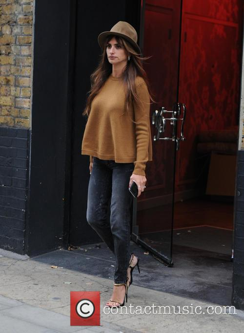 Penélope Cruz out in London