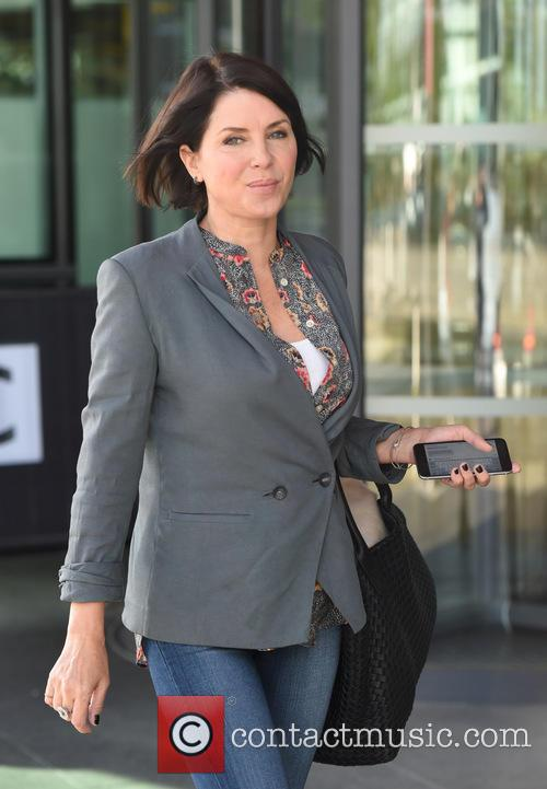 Sadie Frost at BBC Breakfast