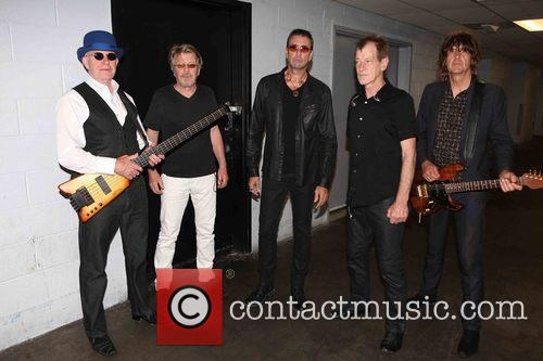 The Fixx, L To R, Dan K. Brown, Adam Woods, Cy Curnin, Rupert Greenall and Jamie West-oram 2