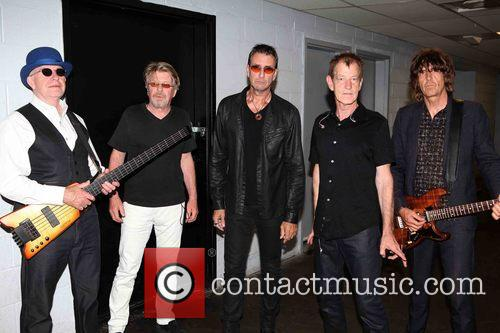 The Fixx, L To R, Dan K. Brown, Adam Woods, Cy Curnin, Rupert Greenall and Jamie West-oram 3