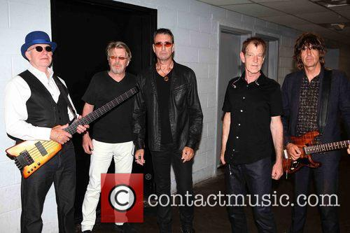 The Fixx, L To R, Dan K. Brown, Adam Woods, Cy Curnin, Rupert Greenall and Jamie West-oram 4