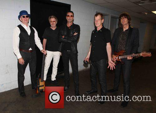 The Fixx, L To R, Dan K. Brown, Adam Woods, Cy Curnin, Rupert Greenall and Jamie West-oram 1