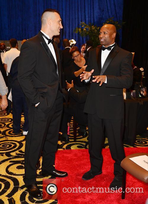 Wladimir Klitschko and Chris Byrd 1