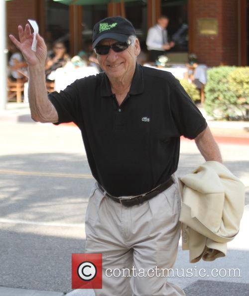 Mel Brooks goes for lunch