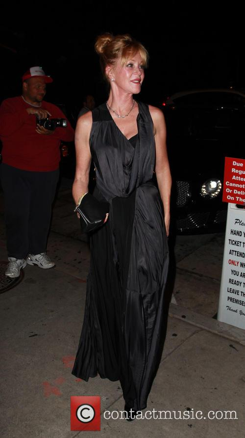 Melanie Griffith goes for dinner at Craig's restaurant