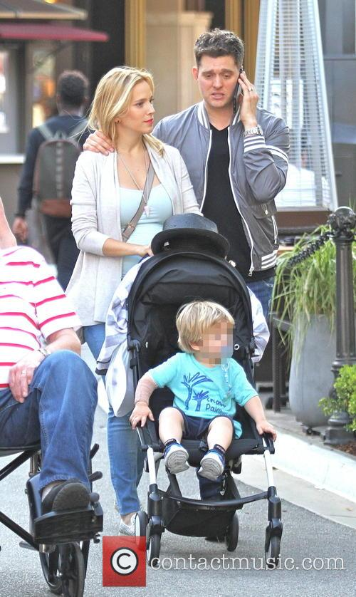 Michael Buble, Luisana Lopilato and Noah Buble 5