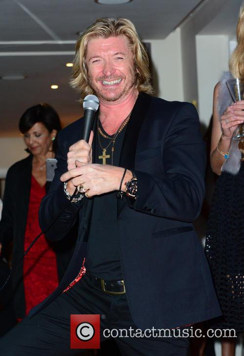 Nicky Clarke hosts the Red Cross Auction and...