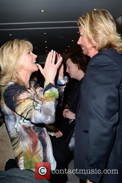 Anthea Turner and Nicky Clarke 1