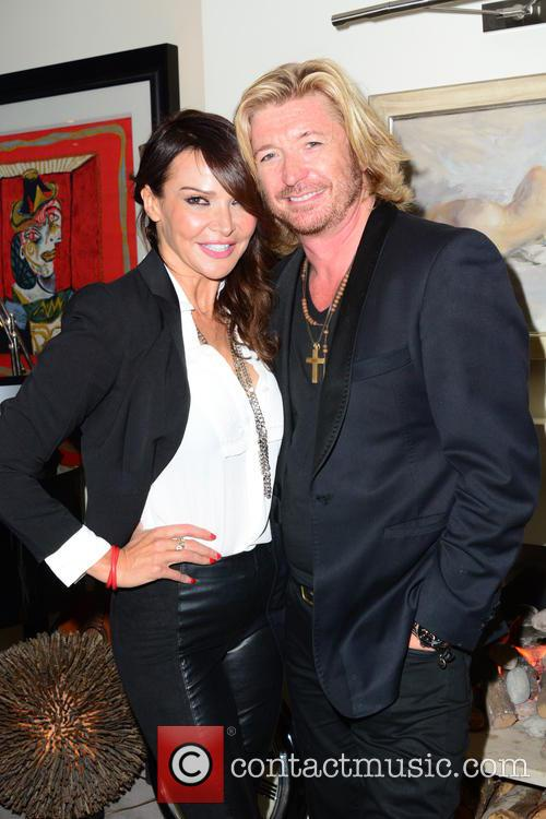 Lizzie Cundy and Nicky Clarke 2