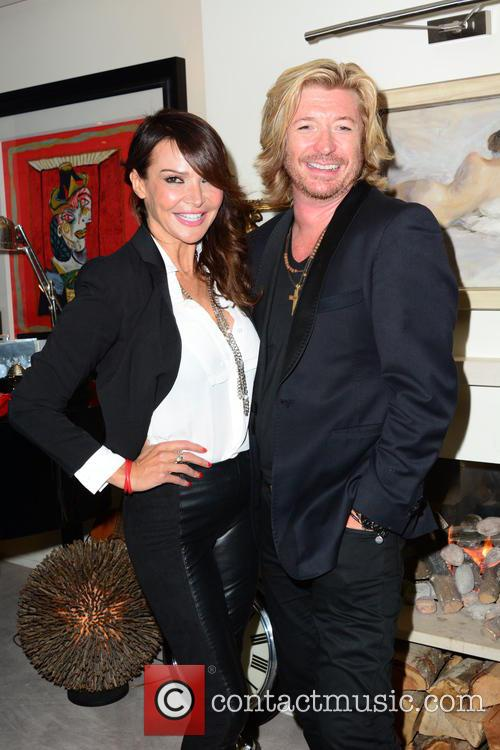 Lizzie Cundy and Nicky Clarke 1