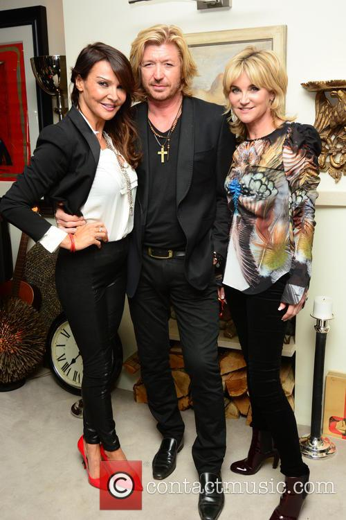Lizzie Cundy, Nicky Clarke and Anthea Turner 2