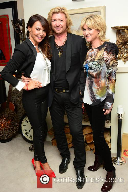 Lizzie Cundy, Nicky Clarke and Anthea Turner 3