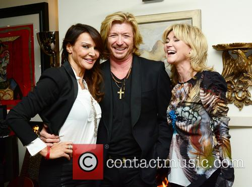 Lizzie Cundy, Nicky Clarke and Anthea Turner 1