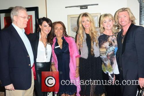Lizzie Cundy, Nicky Clarke, Anthea Turner, Kelly Simpkin and Guests 1