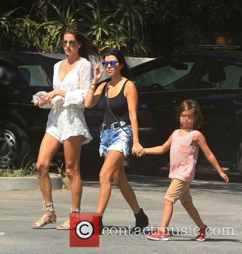 Kourtney Kardashian and Mason Dash Disick 2