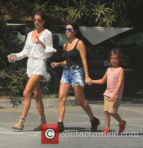 Kourtney Kardashian and Mason Dash Disick 3