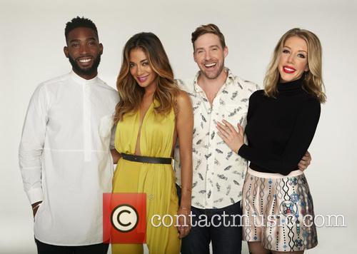 Tinie Tempah, Nicole Scherzinger, Ricky Wilson and Katherine Ryan 1