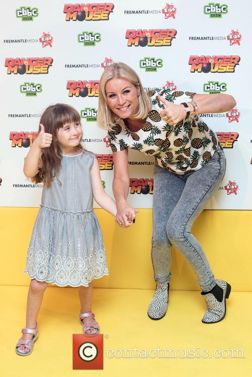 Denise Van Outen and Betsy Mead 1