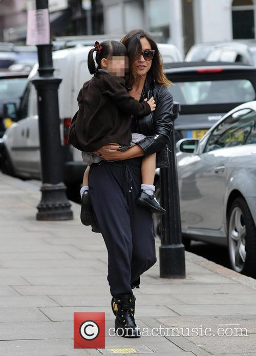 Myleene Klass, Hero Harper Quinn and Ava Bailey Quinn 6