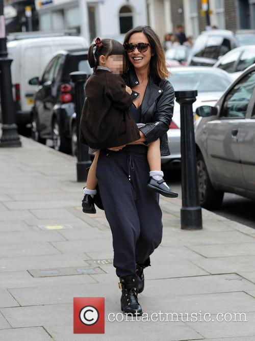 Myleene Klass, Hero Harper Quinn and Ava Bailey Quinn 1