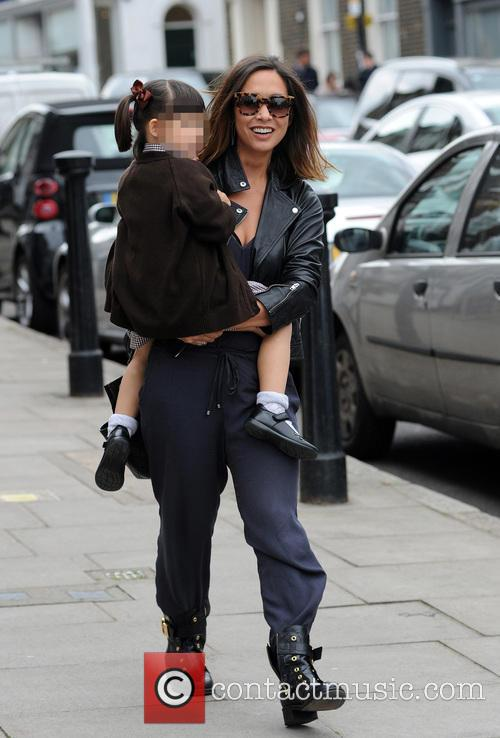 Myleene Klass, Hero Harper Quinn and Ava Bailey Quinn 9