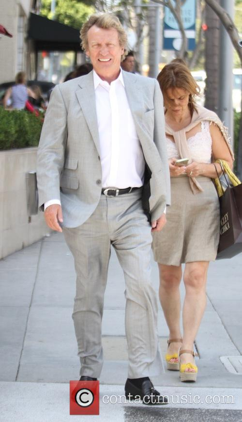 Nigel Lythgoe goes shopping in Beverly Hills
