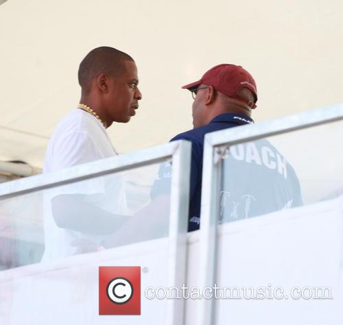 Jay-z and Mayor Of Philadelphia Michael Nutter