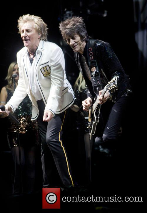 Rod Stewart and Ronnie Wood 2