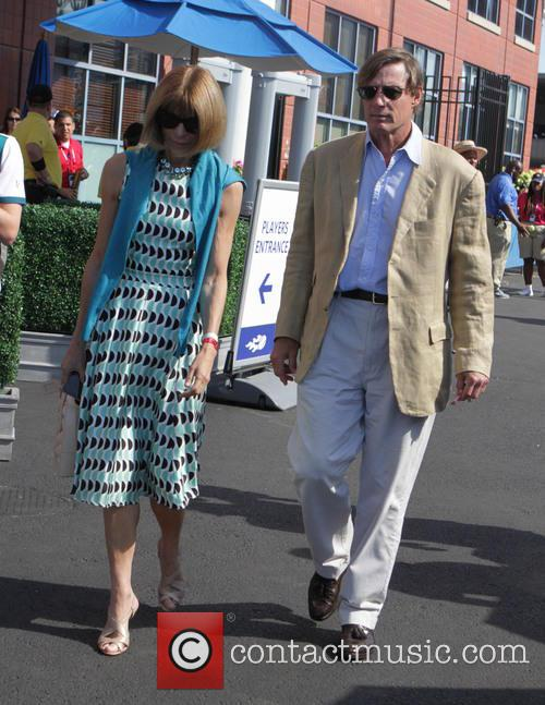 Anna Wintour and David Shaffer 1