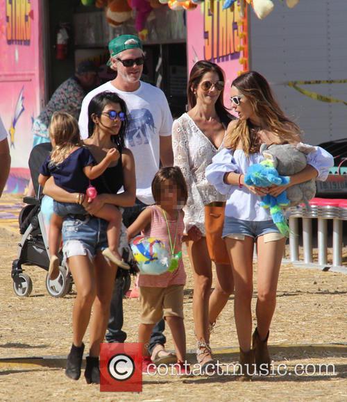 Kourtney Kardashian, Mason Dash Disick and Penelope Scotland Disick 1