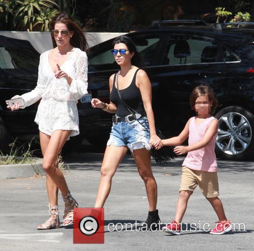 Mason and Ourtney Kardashian 2