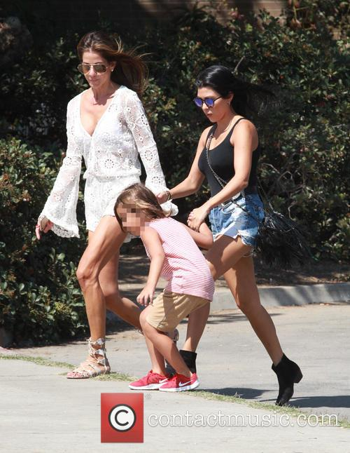 Mason and Ourtney Kardashian 3