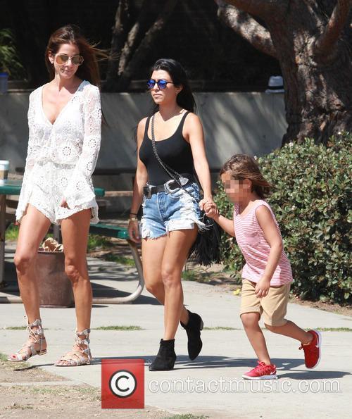 Mason and Ourtney Kardashian 4