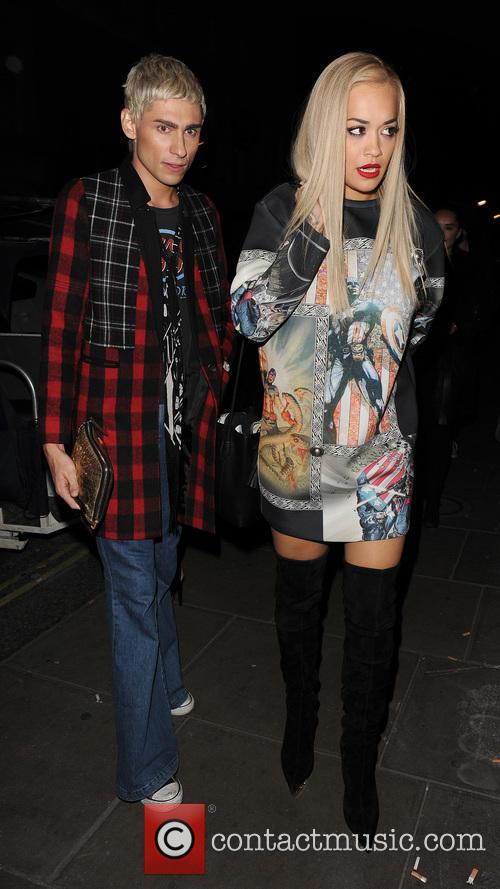 Rita Ora and Kyle Devolle 1