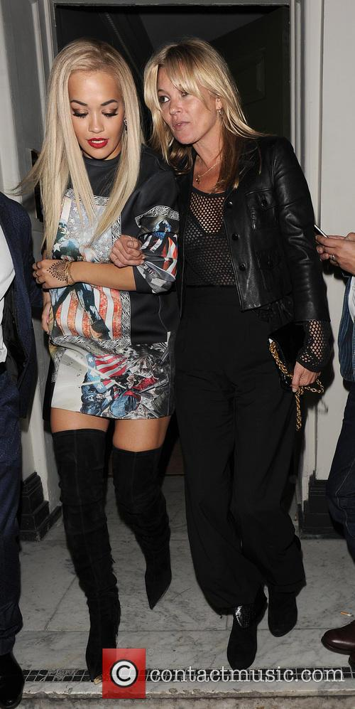 Rita Ora and Kate Moss 2