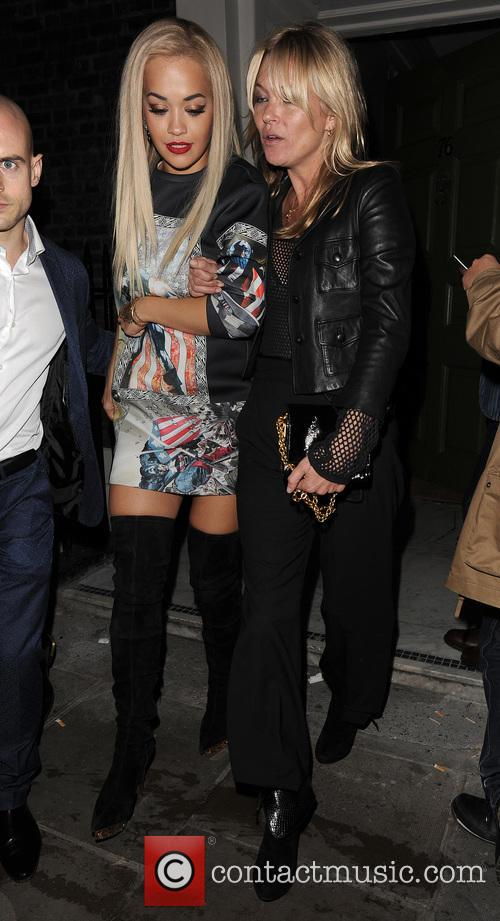 Rita Ora and Kate Moss 5