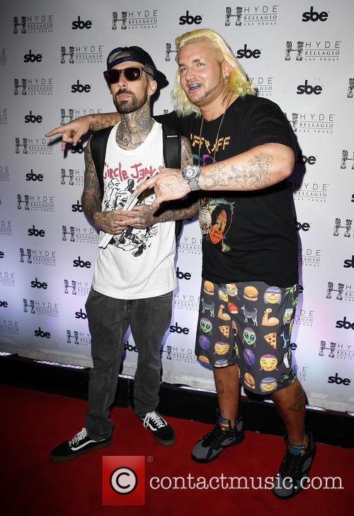 Travis Barker and Riff Raff 1
