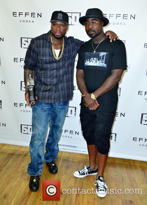 Curtis '50cent' Jackson and Young Buck 1
