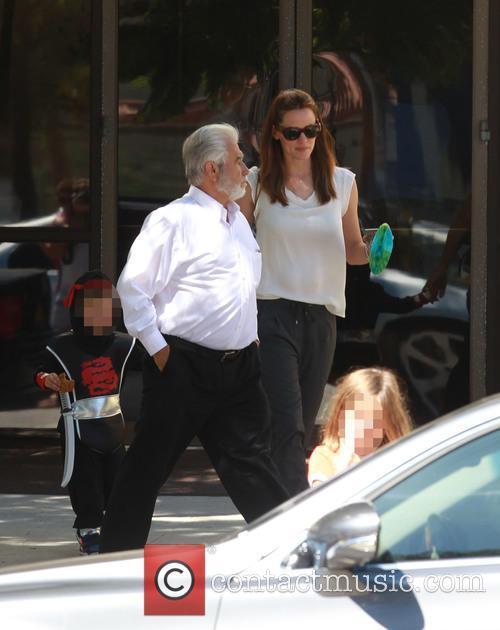 Jennifer Garner and Samuel Garner Affleck 2