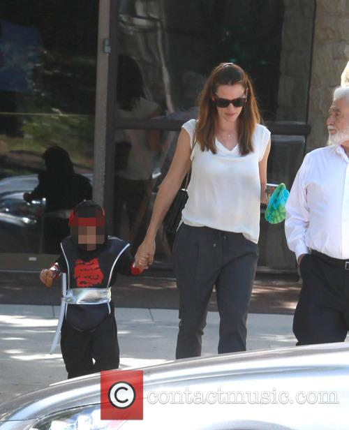 Jennifer Garner and Samuel Garner Affleck 3