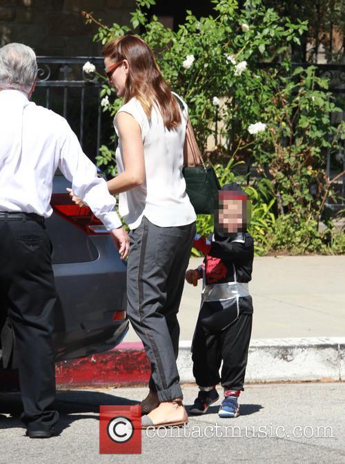 Jennifer Garner and Samuel Garner Affleck 6