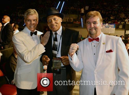 Michael Buffer, Pinklon Thomas, Bob and Bob Alexander 1