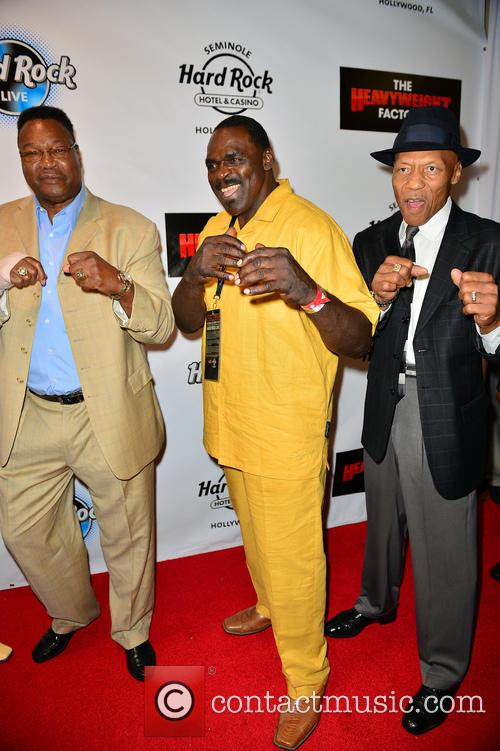 Larry Holmes, Tony Tubbs and Pinklon Thomas 2